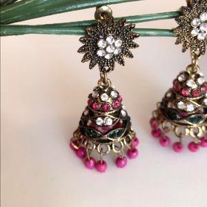 Jewelry - Indian style jhumki earrings